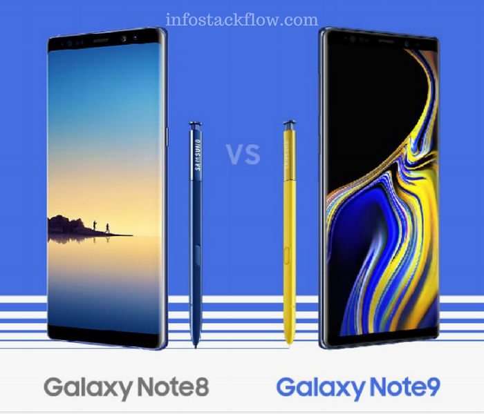 Galaxy Note 8 vs Note9